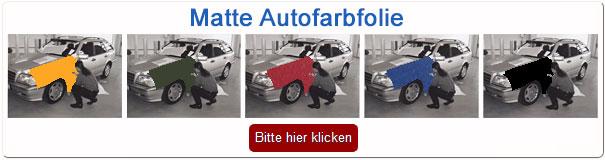Autofolie matt & matte Carwrapping Folie