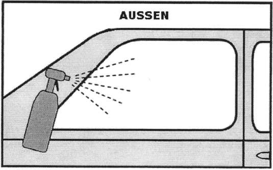 Autoglasfolien Montageanleitung Bild 1
