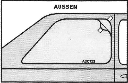 Autotönungsfolien Montageanleitung Bild