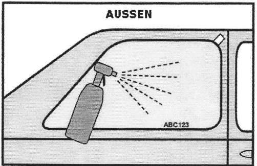 Autoscheibenfolien Montageanleitung Bild 2