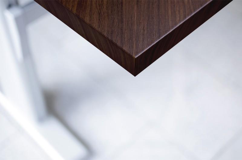 Folie für Möbel und Wand in Holz Optik, I8 - Orangenes Ebenholz