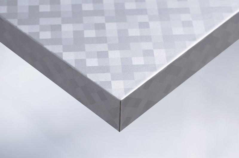 folie f r m bel und wand in metallic optik r4 kariertes. Black Bedroom Furniture Sets. Home Design Ideas