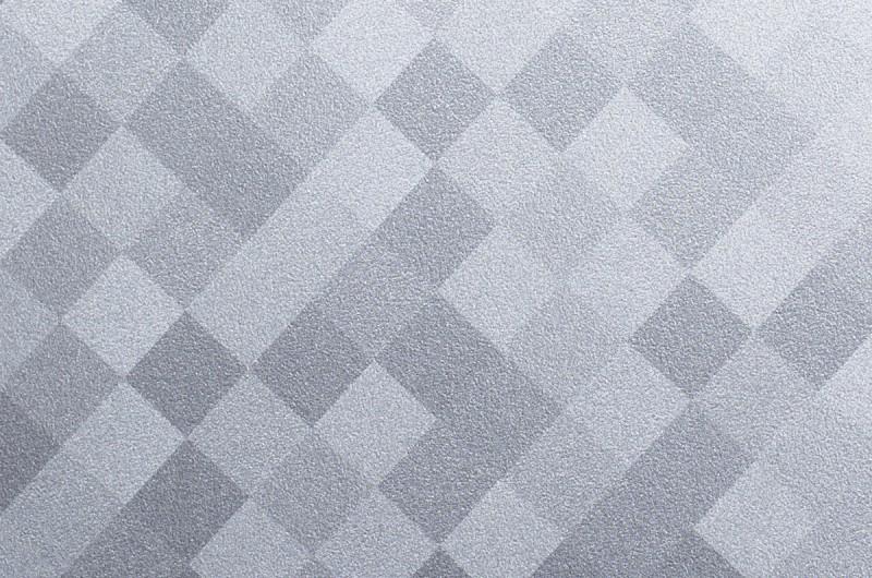 r4 folie f r m bel und wand metallic kariertes silber. Black Bedroom Furniture Sets. Home Design Ideas