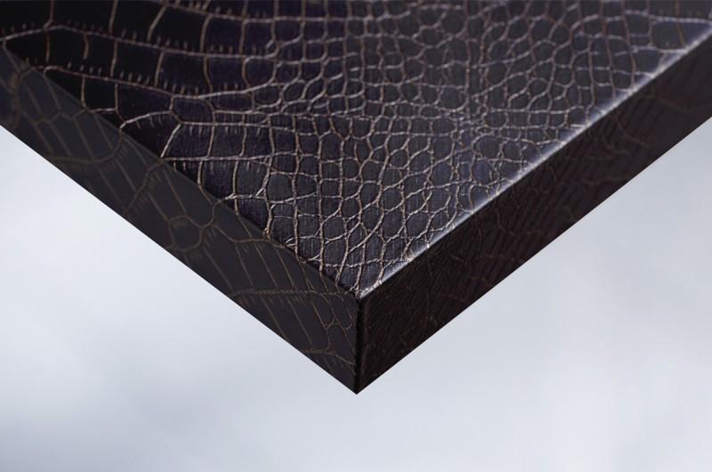 folie f r m bel und wand in leder optik x6 schokoladige. Black Bedroom Furniture Sets. Home Design Ideas