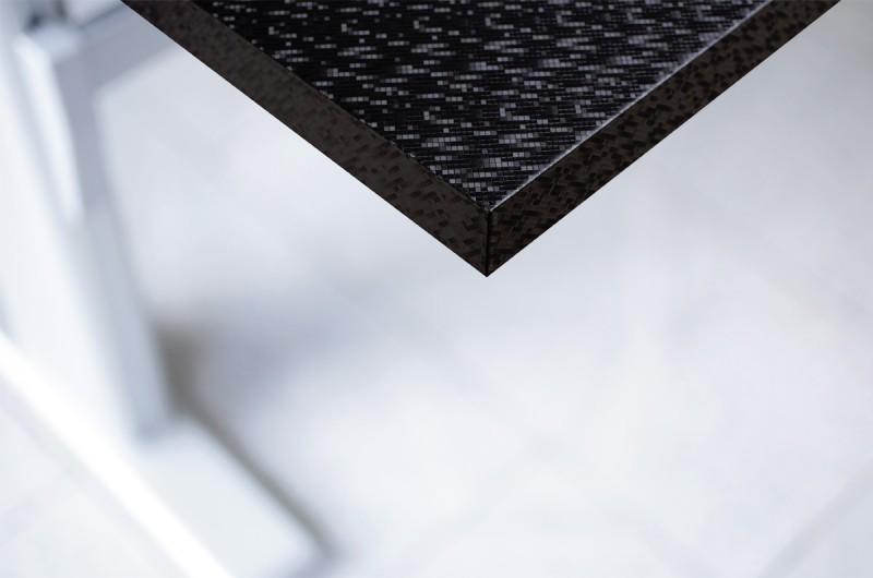 z2 folie f r m bel und wand metallic laser schwarz. Black Bedroom Furniture Sets. Home Design Ideas