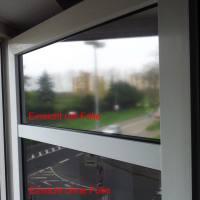 Spiegelfolie In Silber Für Fenster Als Einseitiger Sichtschutz