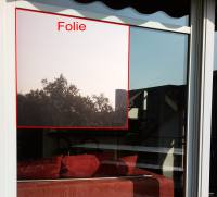 They are window films with a mir...